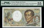 Banque de France, 200 francs, 500 francs (2), (1979-86), serial numbers D.001 698794, L.194 87756, U