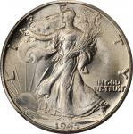 1945-D Walking Liberty Half Dollar. MS-67+ (NGC).