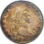 1802 Draped Bust Half Dollar. O-101, T-1. Rarity-3. AU-55+ (PCGS). CAC.