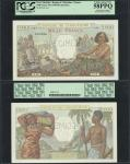 New Caledonia, Banque de lIndochine, 1000 francs, specimen, no date (1940-1965), serial number 0.00