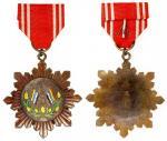 民国北洋政府冯玉祥赠纪念章,连缎带,保存良好