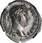 HADRIAN, A.D. 117-138. AR Denarius (3.46 gms), Rome Mint, ca. A.D. 134-138.