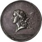 1781年美国银质自由勋章 PCGS AU 55