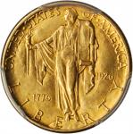 1926 Sesquicentennial of American Independence Quarter Eagle. MS-63 (PCGS). Gold Shield Holder.