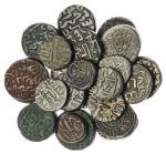Delhi Sultans, Tughluq Dynasty, Ghiyath al-Din Tughluq (1320-25), billon 4-Gani, 2-Gani, Muhammad bi
