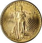1923-D Saint-Gaudens Double Eagle. MS-64 (PCGS).