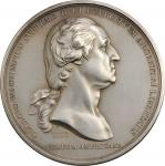 Washington Before Boston medal. Fifth Paris Mint issue ( 1880). First Issued Obverse (In Repaired St