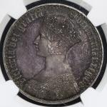 GREAT BRITAIN Victoria ヴィクトリア(1837~1901) Crown 1847 NGC-PF65 Proof UNC/FDC