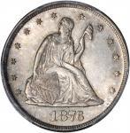 1876 Twenty-Cent Piece. BF-2. Rarity-2+. MS-65 (PCGS).