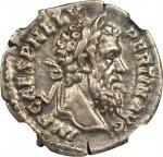 PERTINAX, A.D. 193. AR Denarius (3.69 gms), Rome Mint, A.D. 193. NGC EF, Strike: 4/5 Surface: 5/5.