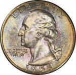 1958 Washington Quarter. MS-67 (PCGS). CAC.