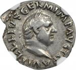 VITELLIUS, A.D. 69. AR Denarius (3.31 gms), Rome Mint, Late April-20 December A.D. 69.