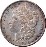 1892-S Morgan Silver Dollar. AU-50 (PCGS).