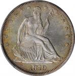 1879 Liberty Seated Half Dollar. WB-101. Type I Reverse. Proof-62 (PCGS). CAC.