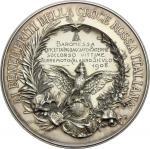 Casa Savoia - Regno di Sardegna - Regno di Italia, Medaglia 1908 conferita alla Baronessa Concetta I