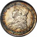 1828 Capped Bust Half Dollar. O-104. Rarity-3. Curl Base, No Knob 2. MS-64+ (PCGS). CAC.
