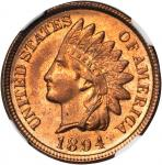 1894 Indian Cent. MS-66 RD (NGC).