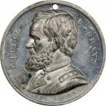 Circa 1864 Washington and Flags / Ulysses S. Grant medal by William H. Key. Musante GW-726, Baker-24