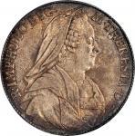 AUSTRIA. Burgau. Taler, 1771-SC. Gunsburg Mint. Maria Theresa. PCGS MS-62 Gold Shield.
