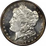 1897-S Morgan Silver Dollar. MS-66+ PL (PCGS).