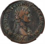 DOMITIAN, A.D. 81-96. AE As (10.40 gms), Rome Mint, ca. A.D. 85.