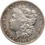 1893-S Morgan Dollar. PCGS EF45