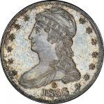 1838-O Capped Bust Half Dollar. Graham Reiver-1. Rarity-7. HALF DOL. Branch Mint Specimen-64 (PCGS).
