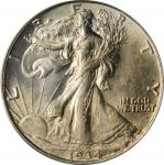 1934 Walking Liberty Half Dollar. MS-64 (PCGS). OGH.