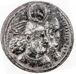 276-292年萨珊王国瓦兰二世 极美 SASANIAN KINGDOM Varhran II drachm