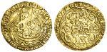 Henry IV or V Half-Noble, type B/P mule, 3.30g, mm. -/cross patt馥, h/enric?di?gra?rex angl?z fra?d h