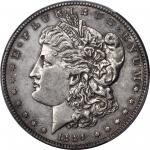 1889-CC Morgan Silver Dollar. AU Details--Cleaning (PCGS).