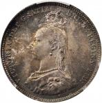 GREAT BRITAIN. Shilling, 1887. London Mint. Victoria. PCGS MS-66 Gold Shield.