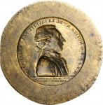 Undated Lafayette Medal / Conder Token. Brass. Approximately 23 mm.