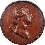 1776 (ca. 1880) Washington Before Boston Medal. First U.S. Mint Issue. Gunmetal Dies. Musante GW-09-
