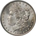 1887-O Morgan Silver Dollar. MS-65 (PCGS).