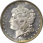 1878 Morgan Silver Dollar. 7 Tailfeathers. Reverse of 1879. MS-65 DMPL (PCGS). CAC. OGH.