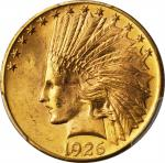 1926 Indian Eagle. MS-64+ (PCGS).