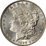 1890-CC Morgan Silver Dollar. VAM-4. Top 100 Variety. Tailbar. MS-64+ (PCGS).