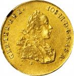 TRANSYLVANIA. 2 Ducats, 1770-E H-G. Karlsburg Mint. Joseph II, joint reign with his mother Maria The