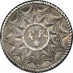 Enigmatic Unknown Token or Medalet. Silver. 19.1 mm. 1.9 gms. Extremely Fine.