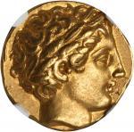 MACEDON. Kingdom of Macedon. Philip II, 359-336 B.C. AV Stater (8.57 gms), Pella Mint, ca. 340-328 B