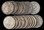 Lot of (440) Mixed-Date, Pre-1921 Morgan Silver Dollars. Good to About Uncirculated.