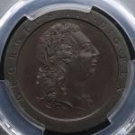 GREAT BRITAIN George III ジョージ3世(1760~1820) Penny 1797SOHO PCGS-PR65 Proof UNC+