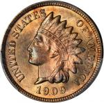 1909-S Indian Cent. MS-64 RB (PCGS).