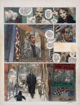 Enki BILAL Né en 1951,NIKOPOL - TOME 3,FROID ÉQUATEUR,Acrylique, encre de Chine et gouache sur papie