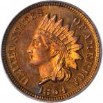 1864 Indian Cent. Bronze. Proof-64 RB (PCGS).