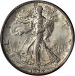 1934-D Walking Liberty Half Dollar. MS-62 (PCGS).