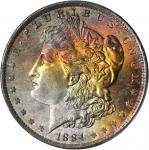 1884-O Morgan Silver Dollar. MS-67+ (PCGS). CAC.
