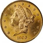 1900 Liberty Head Double Eagle. MS-65 (PCGS).
