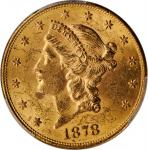 Lot of (2) 1878-S Liberty Head Double Eagles. MS-61 (PCGS).